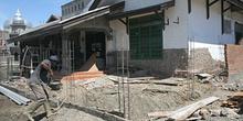 Construyendo nuevas casas, Banda Ache, Sumatra, Indonesia
