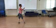 Danza histórica. Sarabande
