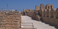 Almenas, Gran Mezquita, Sousse, Túnez