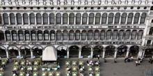 Plaza de San Marco desde alto, Venecia