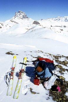 Pico Midi en invierno, Francia