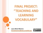 IN_22_Final project: Teaching and learning vocabulary