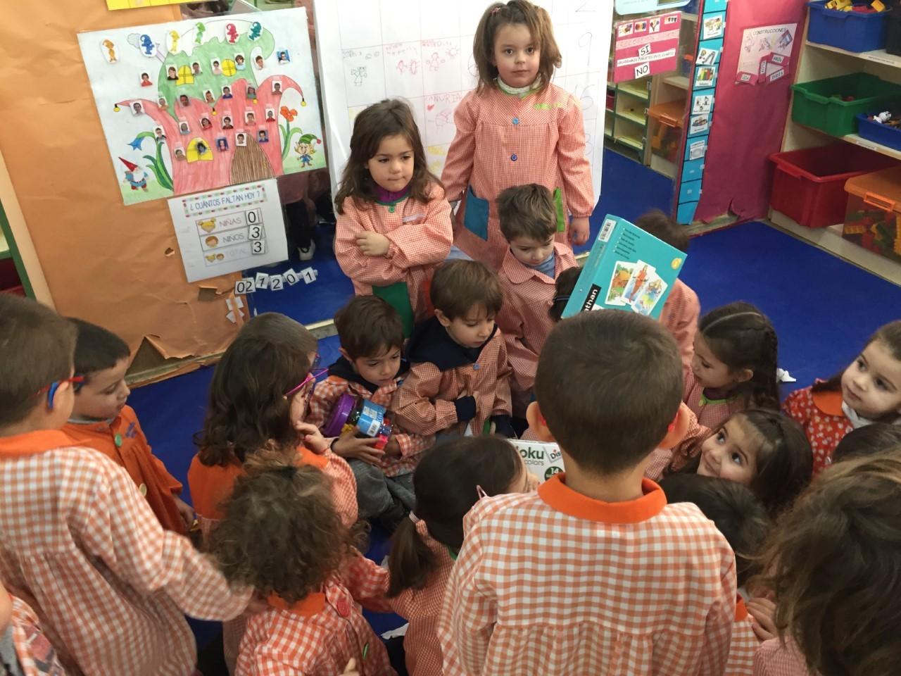 Visita Reyes aula
