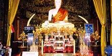 Altar dedicado a Buda, Tailandia