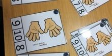 contar del 1 al 10 con manos