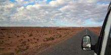 Carretera en el desierto, Marruecos