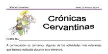 Crónicas Cervantinas - 22 de marzo de 2018
