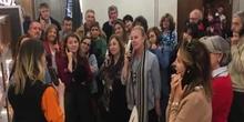 Visita de los alumnos de francés a la exposición de Toulouse Lautrec (18 marzo 2019)