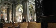 Interior de la Iglesia de Jesús, Génova