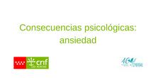Consecuencias Psicológicas: Ansiedad
