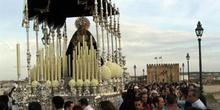 Virgen Dolorosa por el Puente Romano, Córdoba, Andalucía