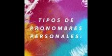 PRIMARIA - 6º B - PRONOMBRES - LENGUA CASTELLANA Y LITERATURA - NOAH Y ARÓN