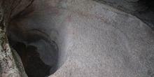 Interior de una mina romana