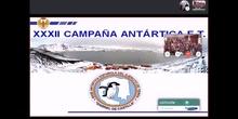Videoconferencia con la Base Antártica Española Gabriel de Castilla