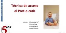 Colocación Port a cath