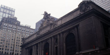 Fachada Estación Central, Nueva York, Estados Unidos