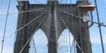Detalle Puente de Brooklyn