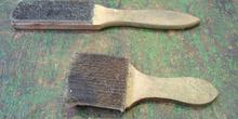 Cepillo limpiador de limas