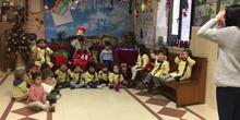 El grupo de Infantil 3 años visita al paje real