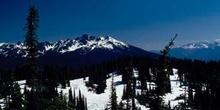 Cumbre en las Montañas Rocosas