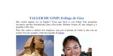 Fotomontaje: Esfinge Giza