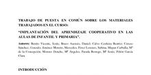 IMPLANTACIÓN DEL APRENDIZAJE COOPERATIVO EN LAS AULAS DE INFANTIL Y PRIMARIA_CONCLUSIONES