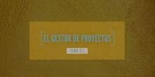 3.1 El gestor de proyectos de DaVinci Resolve