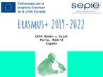 Proyectos Erasmus + CEPA Ramón y Cajal