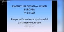 ASIGNATURA OPTATIVA UNIÓN EUROPEA 4º ESO