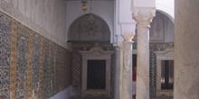 Pasillo, Gran Mezquita de Kairouan, Túnez