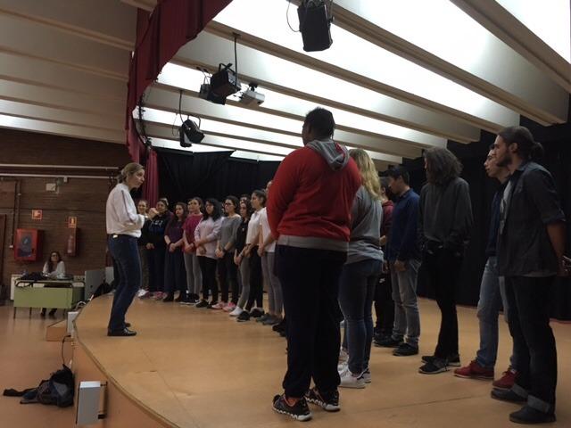 Visita al instituto de alumnos del instituto de secundaria 'Gimnasium Kalundborg' de Dinamarca 3