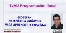 EvAU Programación lineal