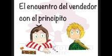 SECUNDARIA 1º - EL PRINCIPITO Y EL VENDEDOR