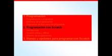 1º ESO / Tema 5 -> Punto 2 - Programación con Scratch