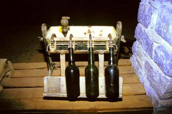 Lagar de sidra: Aparato para el rellenado de botellas, Museo del