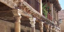 Soportal de una casa de Pedraza, Segovia, Castilla y León