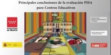 4.Principales conclusiones de la evaluación PISA para Centros Educativos.