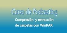 Compresión y extracción de carpetas con WinRAR