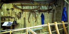 Plantillas de carpintería de ribera, Museo Marítimo de Asturias,