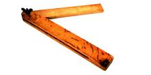 Falsa escuadra de madera