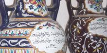 Jarrones, Museo de Sidi Bou Said, Túnez