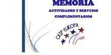 Memoria Servicios y Actividades 18/19