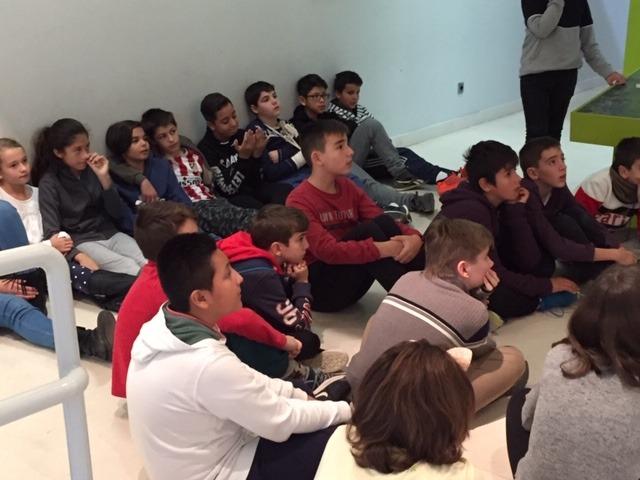 Centro de Interpretación de la Naturaleza. Montecarmelo. 6º curso. 12