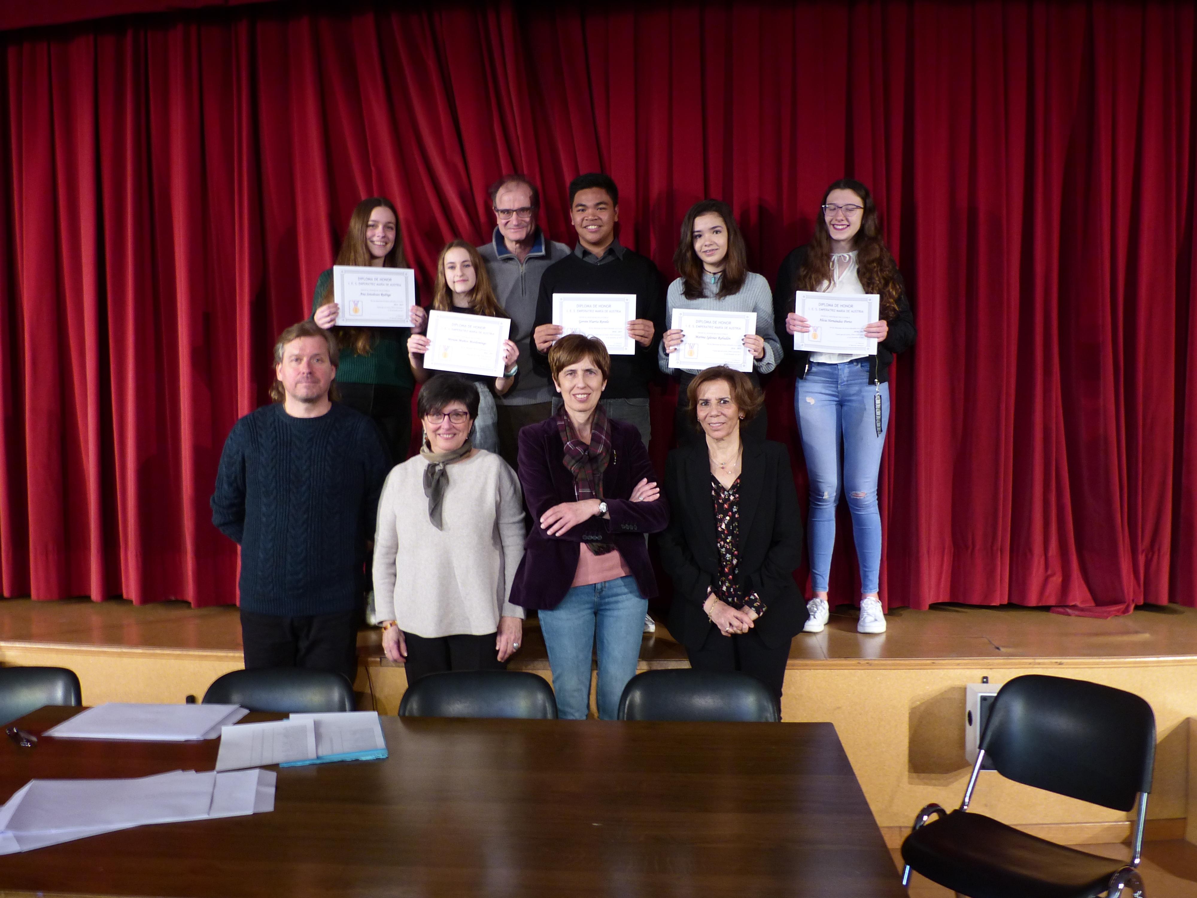 Acto Entrega Diplomas Menciones Honoríficas curso 2017-2018 4