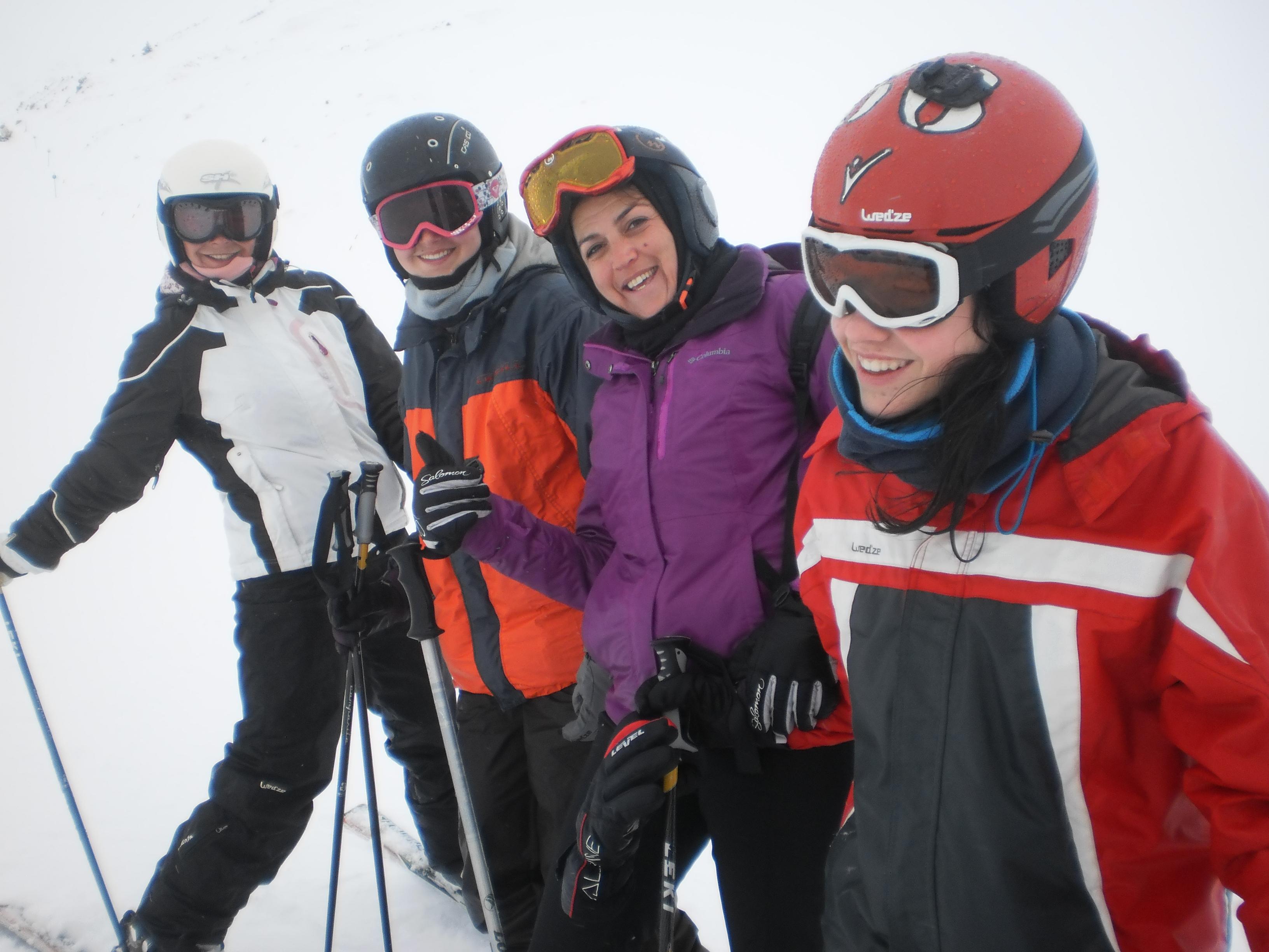 2017 excursión nieve 11