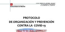 PROTOCOLO COVID 19  CEIP GINER DE LOS RÍOS