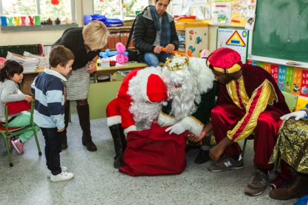 Los RRMM y Papá Noel en INF 5A 48