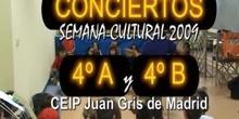CONCIERTOS 4º E.P. - CEIP Juan Gris de Madrid