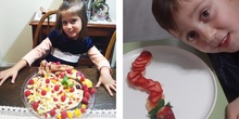 Obras de arte con fruta