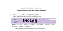 """Periódico Escolar Digital """"Inclán"""""""
